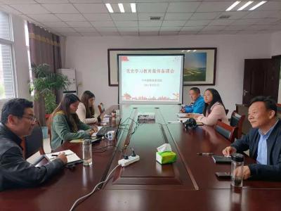 县委党校精心备战党史学习教育宣讲工作