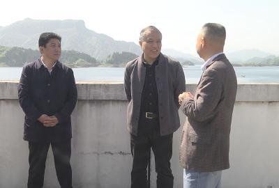 省水利厅副厅长丁凡璋到崇阳县调研防汛备汛工作