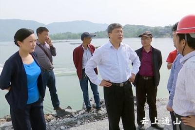 省公路管理局局长熊友山来我县调研