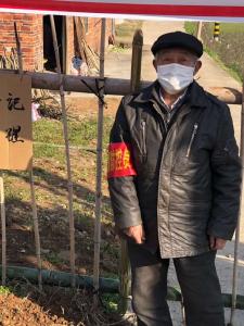 长江云——【众志成城抗疫情】黄沙铺镇下陈村80岁老党员在喊话:党员未退,责任不退