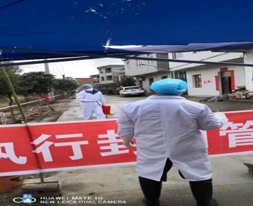 长江云——【众志成城抗疫情】通山:隔离墙边的对话