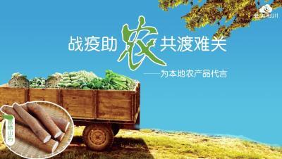 【直播】战疫助农 共渡难关 —为利川山药代言