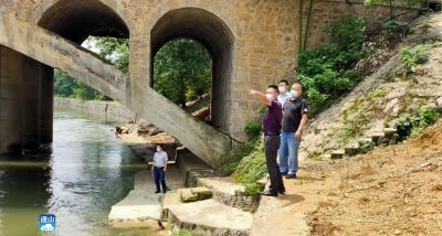 长江云——通山:河道清理整治  着力提升水环境