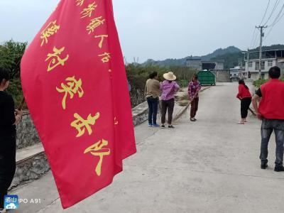 南林桥镇:千人洁城迎国庆 文明健康度中秋