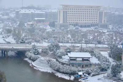 @通山人  通山即将飘下今冬第一场雪!
