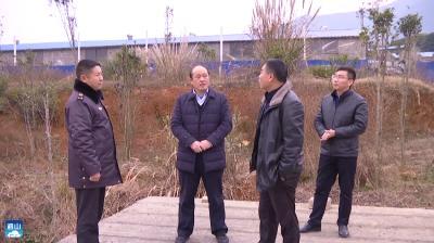 V视   县领导到黄沙铺镇督办养猪场源头治理工作