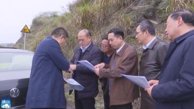 【项目速递】V视 | 县领导现场协调推进富水湖旅游项目建设
