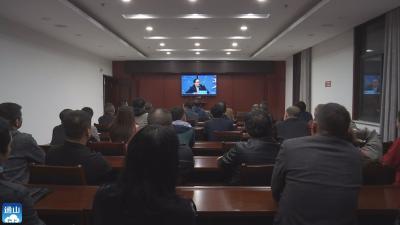 V视 | 通山各部门认真组织收看《2021咸宁问政》