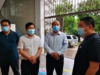 V视 | 吴柏林到县城区疫苗接种点进行调研