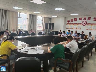 【党史学习教育】通羊镇开展第5期支部主题党日活动