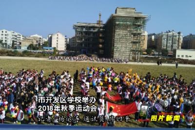 应城市开发区学校举办2018年秋季运动会