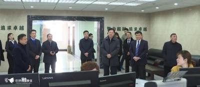 徐长斌看望慰问春节期间坚守岗位一线干部职工