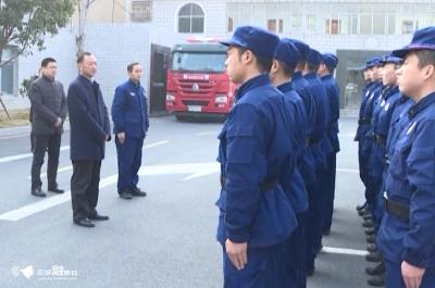 市委书记程涛带队看望慰问一线干部职工