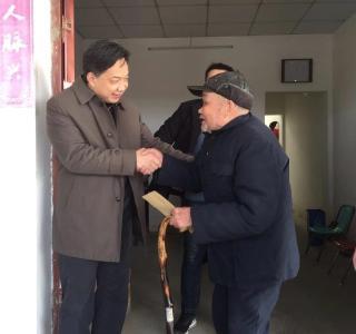 省药监局驻村工作队节前慰问暖民心