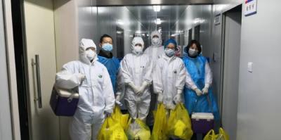 应城市疾控中心:疫情防控第一线 党员干部冲在前