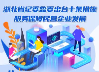 图解   湖北省纪委监委出台十条措施 服务保障民营企业发展