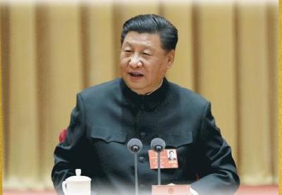 """热解读丨习主席再谈人民军队,让人想起他曾提及的""""钢""""与""""气"""""""