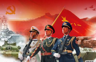 八一建军节,向中国军人致敬
