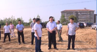 徐长斌到应城三合镇调研项目建设工作