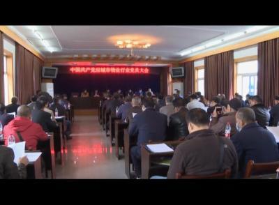 应城市物业管理行业委员会成立暨第一次党员大会召开