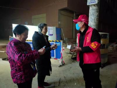 【应城】白蚁防治所:下沉党员志愿者齐努力    引导居民防疫不松懈