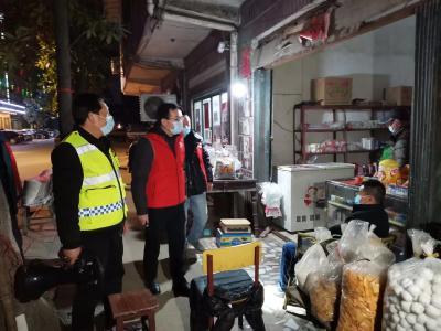 """【应城】下沉党员社区""""夜巡""""     这个春节居民防控更安稳了!"""