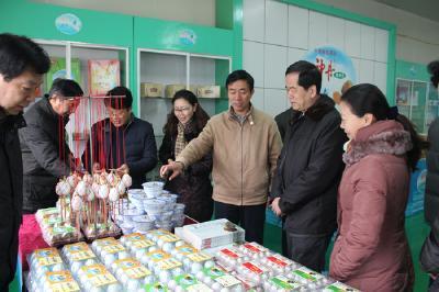 国家工商总局副司长刘宏伟一行来安陆调研