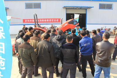 市农机局举办春季农用机械维修培训会助力春耕生产