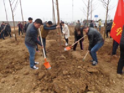 市城乡规划局组织参加义务植树活动