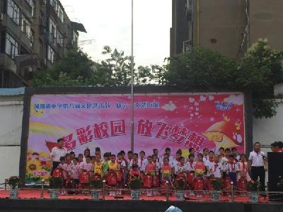 """府城街道凤凰路小学举行庆""""六一""""文艺汇演"""