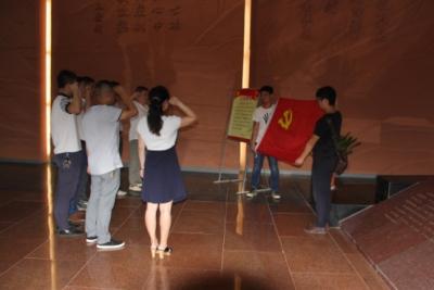 市规划院组织赴大悟开展红色教育