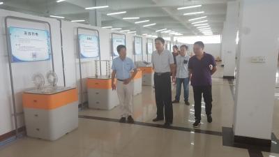 市科技局、科协一行到广水市科技馆参观学习