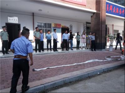副市长刘敦锋带队开展消防安全专项检查