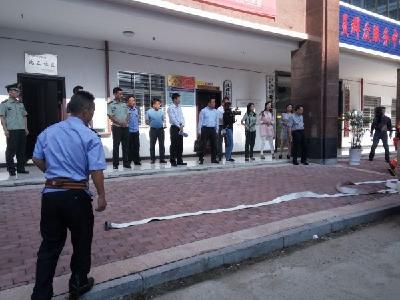 副市长、公安局长刘敦锋带队开展消防安全专项检查