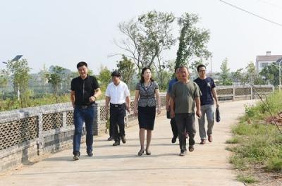 刘敏到烟店镇调研督导精准扶贫 基层党建 农旅融合和主体责任落实工作