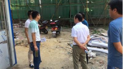 安陆市房管局开展高温天气安全生产巡查工作