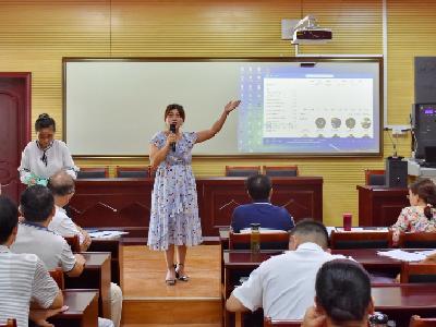 赵棚中心学校举行教师师德演讲比赛