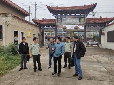 安陆市开展文物古建筑消防安全检查工作