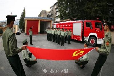 二级战备护假日平安!一组图告诉你,黄金周消防员都干了啥