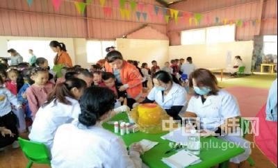 陈店乡 | 815名儿童免费健康体检