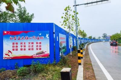 棠棣镇下大气力呵护青山绿水好家园