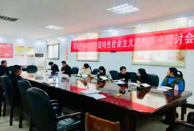 """农业局""""青年读书汇""""开展《习近平新时代中国特色社会主义理论三十讲》第三讲学习交流活动"""