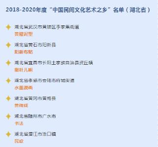 """安陆市第五次获得""""中国民间文化(水墨漫画)艺术之乡""""命名"""