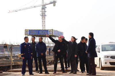 市委书记刘敏检查安全生产工作