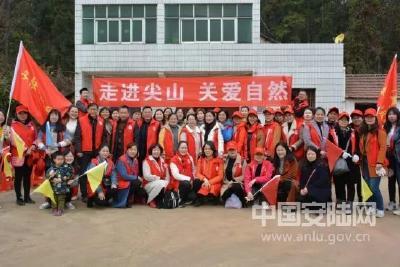 安陆志愿者服务蔚然成风