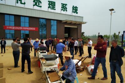 秸秆秧盘硬地育秧培训在安陆市成功举办