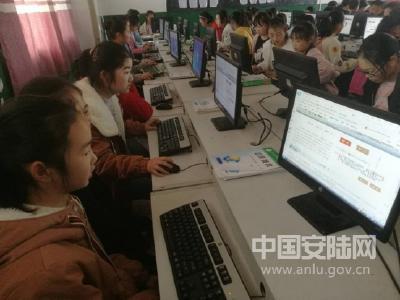 王义贞镇初级中学组织学生网上祭英烈