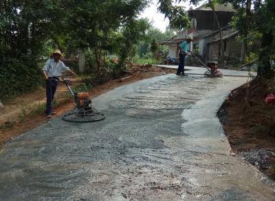 金泉村级扶贫公路开工建设