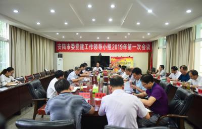 安陆市市委党建工作领导小组召开2019年第一次会议