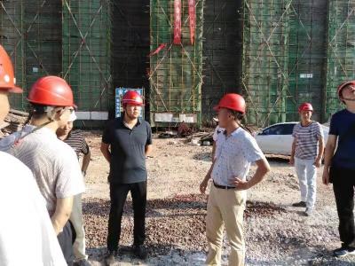 安陆市住建局开展三季度安全生产大检查